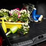 Коврик для багажного отделения из пластика в Датсун ми-ДО