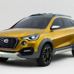 Datsun GO-Cross: Вид сбоку