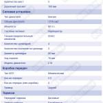 Технические характеристики Datsun 720 1.8 MT