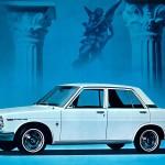 Bluebird 510: четырехдверный седан